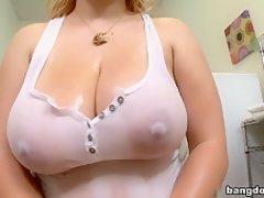 mature silicon tits