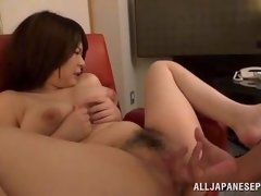 hot asian mom gets fingering and has satisfy