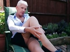 matures in pantyhose videos