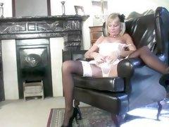 Mature stocking movie