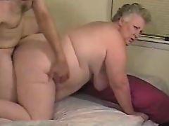Fat granny porno