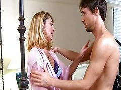 Brenda James Blonde Mature